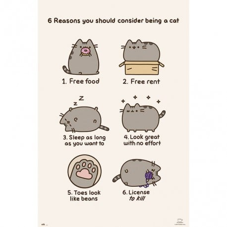 Poster Pusheen The Cat