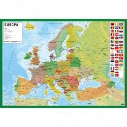 Vade de Escritorio Escolar Mappa Dell Europa (Italiano)