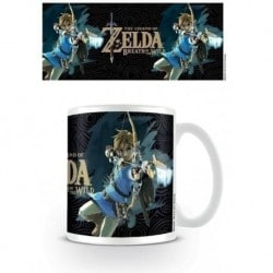 Taza The Legend Of Zelda: Breath Of The Wild (Portada)