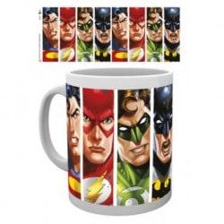Taza Dc Comics Liga de la Justicia Caras