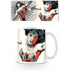 Taza Liga de la Justicia (Mujer Maravilla)