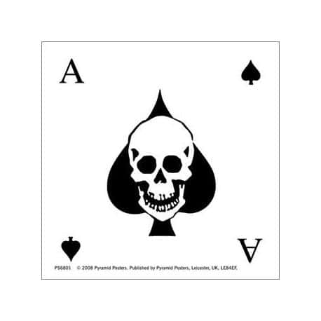 Pegatina Vinilo Ace Of Spades