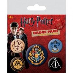 Pack de Chapas Harry Potter