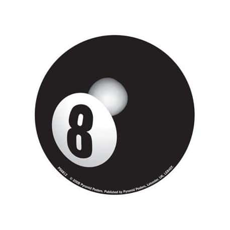 Pegatina Vinilo Eight Ball