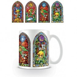 Taza The Legend Of Zelda Stained Glass
