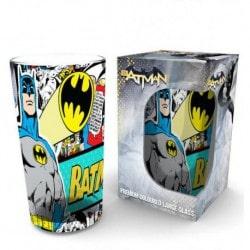 Vaso Cristal Pinta Batman Comic Wrap