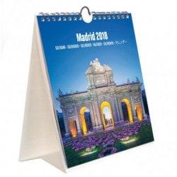 Calendario Turistico Combi 2018 Madrid