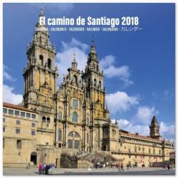Calendario 2018 30X30 Camino De Santiago
