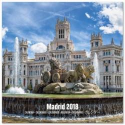 Calendario 2018 30X30 Madrid
