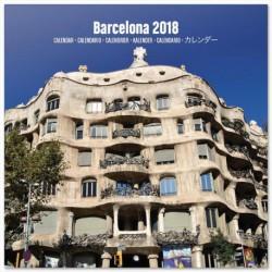 Calendario 2018 30X30 Barcelona