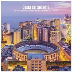 Calendario 2018 30X30 Costa Del Sol