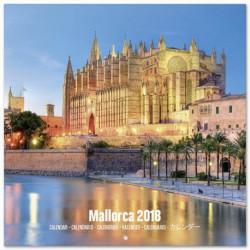 Calendario 2018 30X30 Mallorca