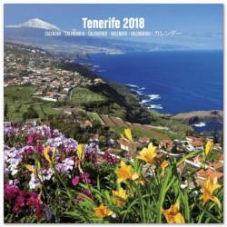 Calendario 2018 30X30 Tenerife