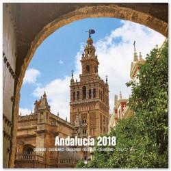 Calendario 2018 30X30 Andalucia
