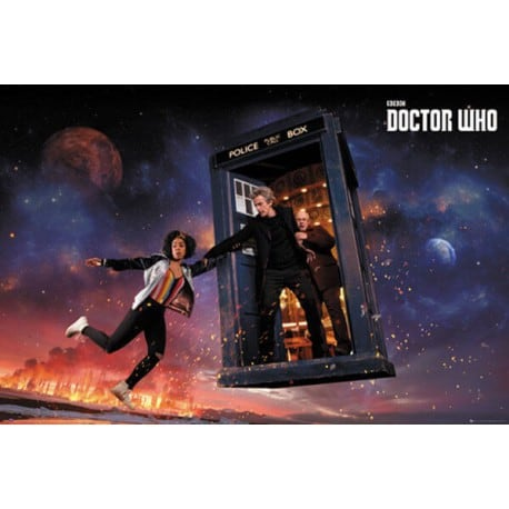 Poster Doctor Who Temporada 10