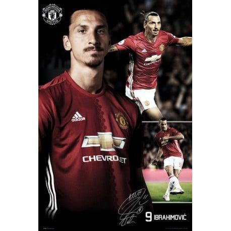 Poster Manchester United Ibrahumovic 16/17