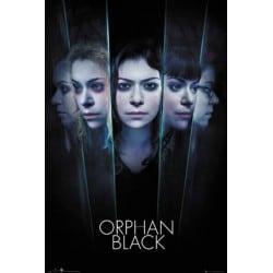 Poster Orphan Black Caras
