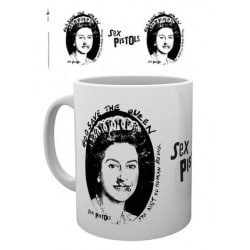 Taza Sex Pistols God Save The Queen