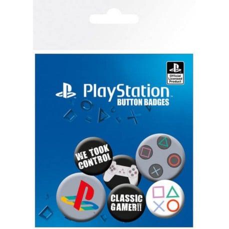 Pack de Chapas Playstation Classic