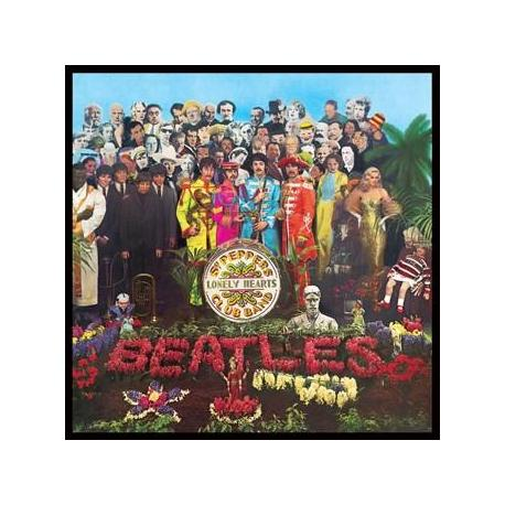 Pegatina Vinilo Beatles Sgt Pepper