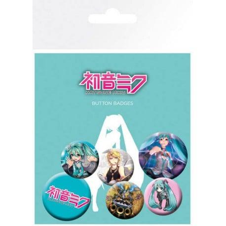 Pack de Chapas Hatsune Miku