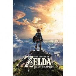Poster The Legend Of Zelda: Breath Of The Wild (Atardecer)