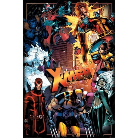 Poster Marvel X-MEN Personajes