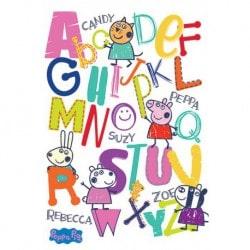 Poster Peppa Pig (Abecedario)