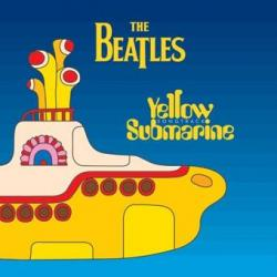 Pegatina Vinilo The Beatles Submarino Amarillo