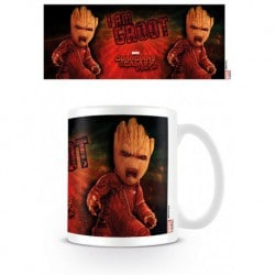 Taza Guardianes de la Galaxia Vol. 2 (Groot Enojado)