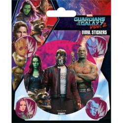 Pegatina Guardianes de la Galaxia Vol. 2 (Guardianes)