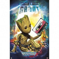 Poster Guardianes de la Galaxia Vol.2 (Groot)