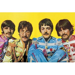 Poster The Beatles Lonely Hearts Club