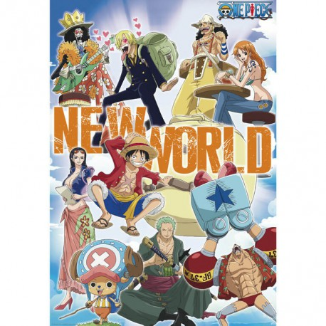 Poster One Piece Nuevo Equipo