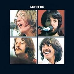 Pegatina Vinilo Beatles Let It Be
