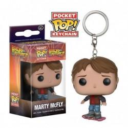 Llavero Pop Volver al Futuro Marty McFly