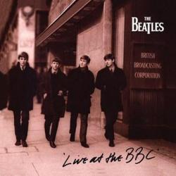 Pegatina Vinilo Beatles Live At The Bbc