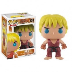 Figura Pop Street Fighter Ken - 9 cm