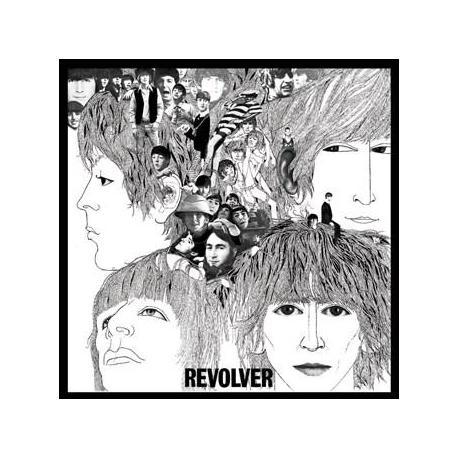 Pegatina Vinilo Beatles Revolver