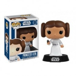 Figura Pop Star Wars Princesa Leia - 9 cm