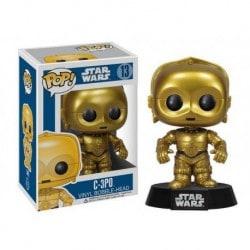 Figura Pop Star Wars C-3PO - 9 cm