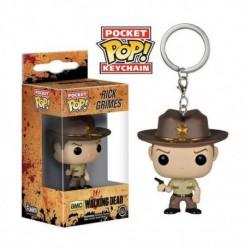 Llavero Pop Walking Dead Rick Grimes