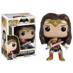 Figura Pop DC Comics Mujer Maravilla - 9 cm