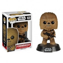 Figura Pop Star Wars VII Chewbacca - 9 cm