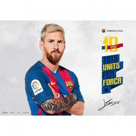 Vade de Escritorio Escolar Fc Barcelona 2016/2017 Messi