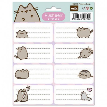 Etiquetas Pusheen The Cat