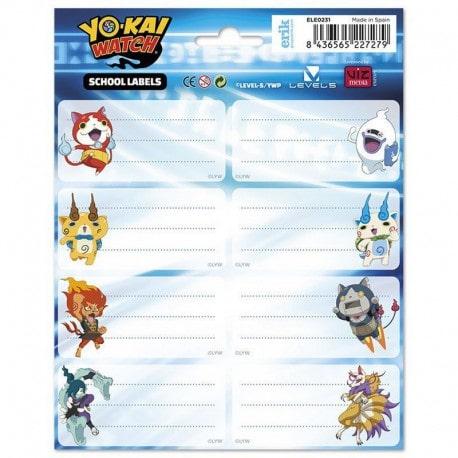 Etiquetas Yo-Kai Watch