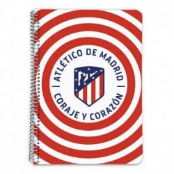Cuaderno Tapa Dura A5 Atletico De Madrid