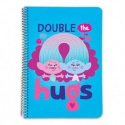 Cuaderno Tapa Dura A5 Trolls