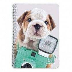 Cuaderno Tapa Dura A5 Studio Pets Dog Camera